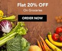 Flat 20% off on Groceries and more - Visa Card Holders (Min Order Rs 800)