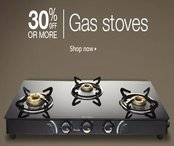 Gas Stoves - Min 30% off
