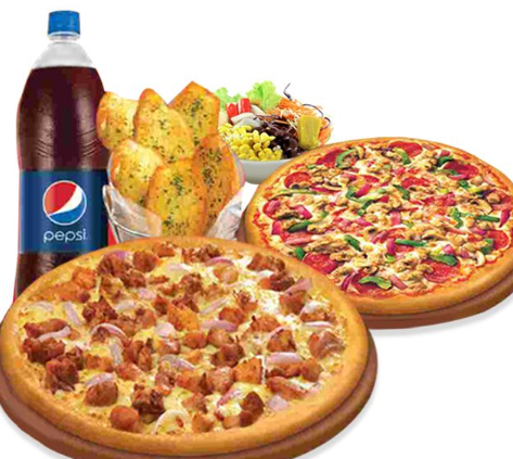 Classic Combo Veg Offer - Regular Cheese & Corn Pizza plus Pepsi at just Rs 199