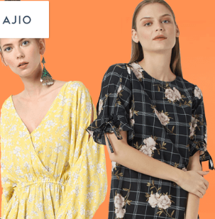 Ajio Brand - Flat 60% off on Rs 2290 Above