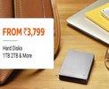External Hard Disk - Upto 50% off