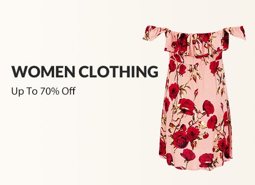 Women's Fashion – Upto 70% Off On Fashion & Lifestyle Products
