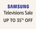 Samsung TV Sale - Upto 35% off