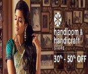 Handlooms & Handicrafts - Upto 50% off