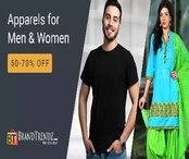 Apparels for Men & Women - Upto 70% off