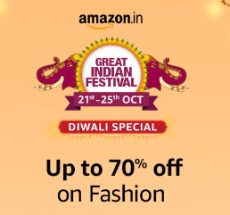 Up to 70% off on India & largest online fashion store