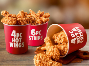 3 Pc Smoky Grilled plus 3 Pc Hot & Crispy plus 5 Pc Hot Wings Chicken at Rs. 449 only