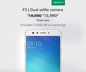OPPO F3 - Upto Rs 5,000 off