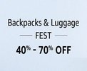 Backpacks - Min. 40% off