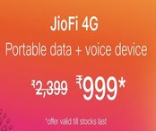 JioFi - Upto 60% off
