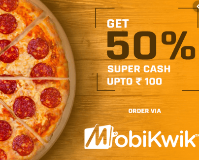 Extra 50% SuperCash via Mobikwik Wallet