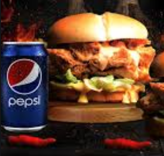 2 Double Down plus 2 Pepsi Cans Burgers at Rs 449