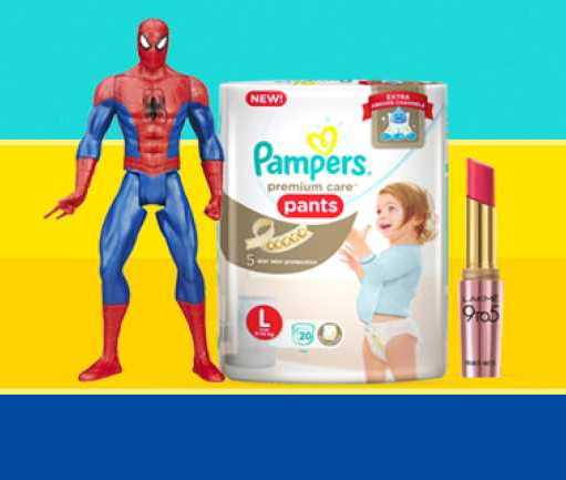 Save As much as you can on Beauty & Baby Care Products Starting from Rs. 99