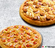 Everyday Value Offer - Select any 2 Medium Pizzas worth Rs. 305 at Rs. 199 each