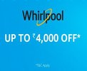 Whirlpool Refrigerator - Upto Rs 4,000 off