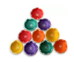Fancy Diyas - Upto 80% off
