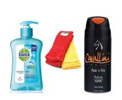 Combo of Cavallini Deo, Hand Wash And 2 Hand Towels+GET FLAT 2% CASHBACK